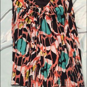 Worthington brand sleeveless blouse. Like new.